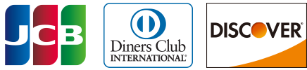 JCB,Diners Club,Discover