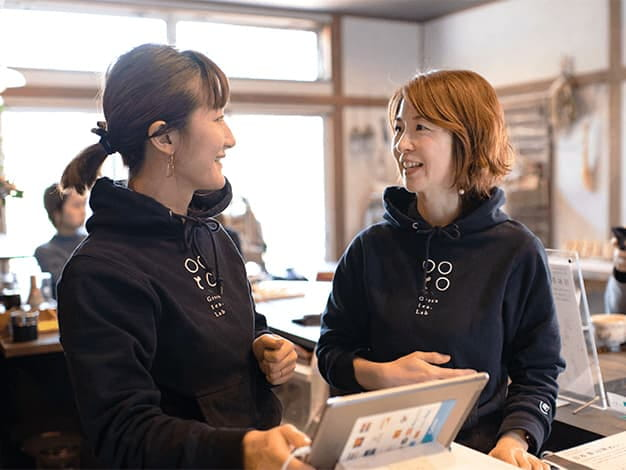 業務負荷の軽減でスタッフ同士の交流も増え、サービスのレベルが上がりました