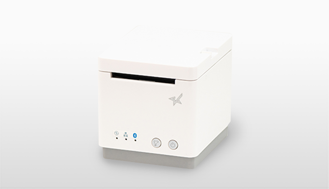 スター精密 据置きレシートプリンター mC-Print2シリーズ(白)