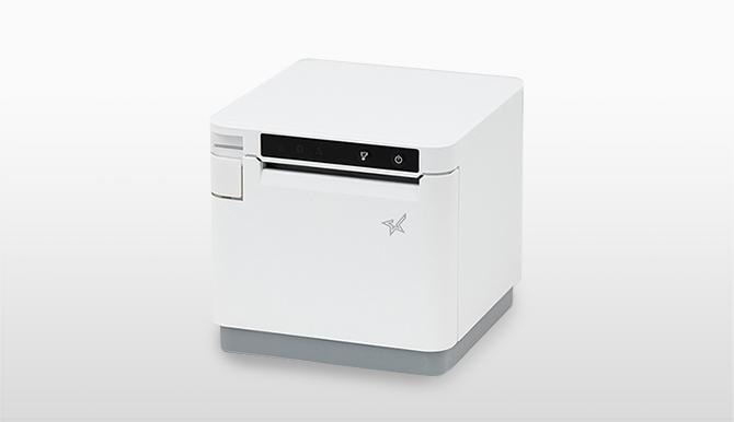 スター精密 据置きレシートプリンター mC-Print3シリーズ(白)