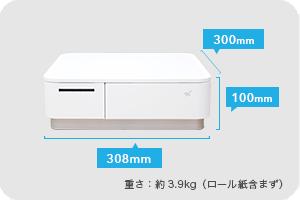 (W)308 × (D)300 × (H)100 mm