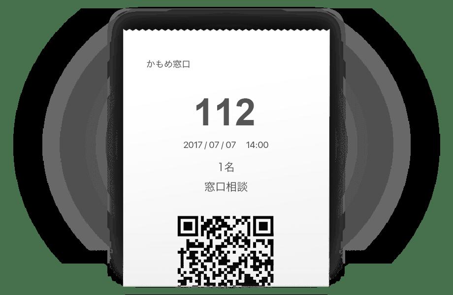 番号券の発券