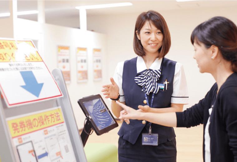 ららぽーとTOKYO-BAY カードデスク 導入事例2
