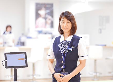 ららぽーとTOKYO-BAY カードデスク プロフィール